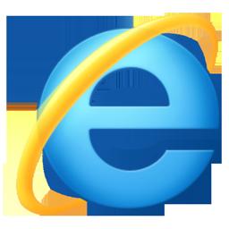 Icône logiciel Internet Explorer