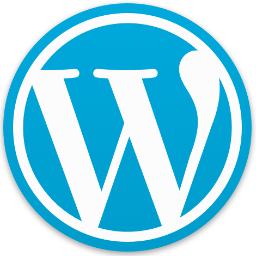Icône logiciel WordPress