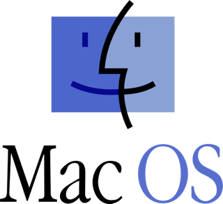 Icone du système d'exploitation Mac OS